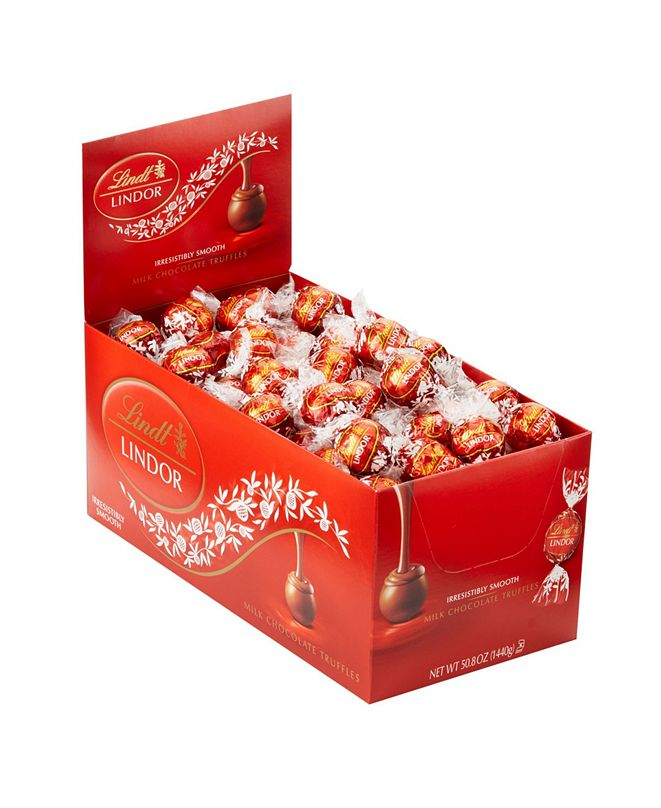 Lindt Lindor Milk Chocolate Truffles, 120 Count
