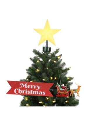 Mr Christmas Santa Animated Tree Topper