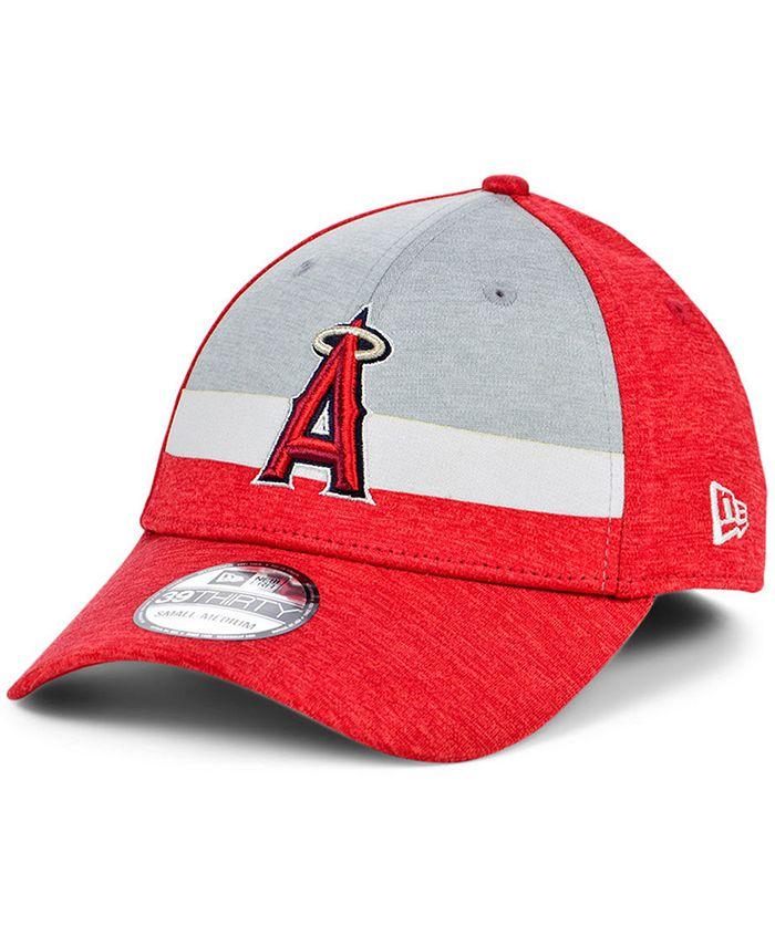 New Era - Los Angeles Angels Striped Shadow Tech 39THIRTY Cap
