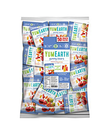 Yum Earth Organic Gummy Bear Snack Packs, 50 Count