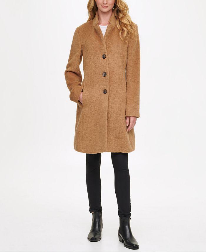 DKNY - Single-Breasted Walker Coat
