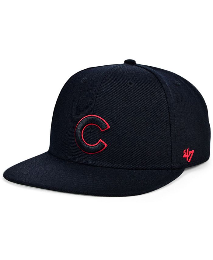 '47 Brand - Chicago Cubs Bright Red Shot Snapback Cap