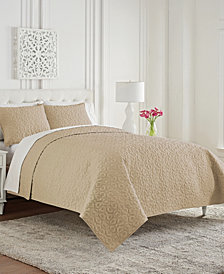 Waterford Mosaic King 3 Piece Coverlet Set