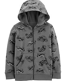 Carter's Little Boys Zip-Up Fleece Hoodie
