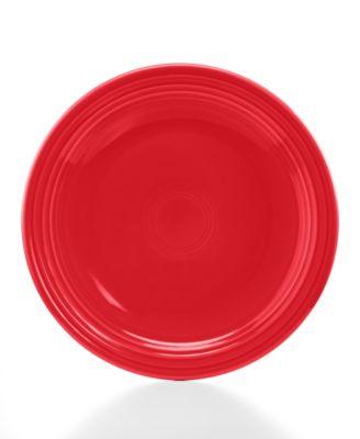"""Fiesta Scarlet 9"""" Luncheon Plate"""