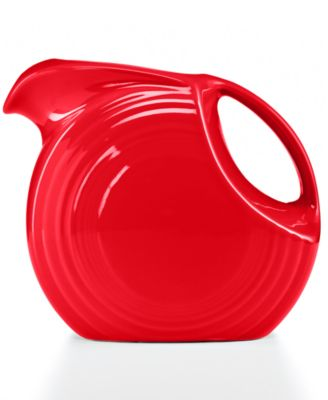 Fiesta Scarlet 67.75-oz. Large Disk Pitcher