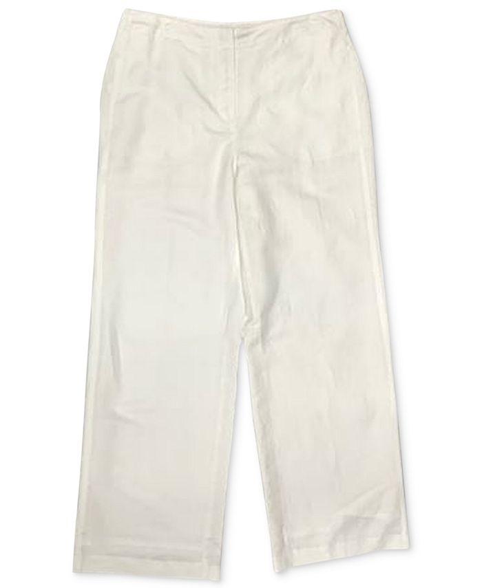 Alfani - Flat-Front Trousers