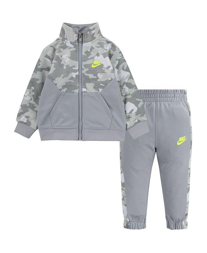 Nike Baby Boys Light Grey Camo Set