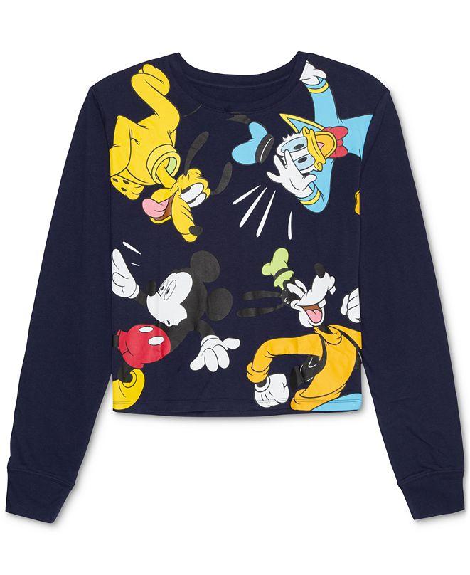 Disney Juniors' Exploded Long-Sleeve T-Shirt
