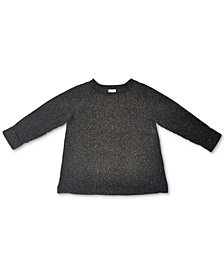 Style & Co Plus Size Pointelle Sweater, Created for Macy's