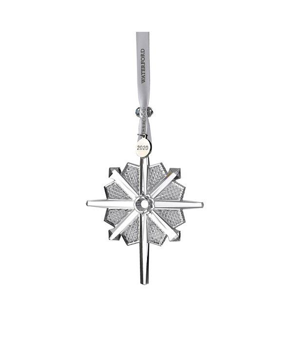 "Waterford Snowstar Ornament 4"""