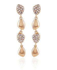 T Tahari Women's Lovely Baubles Linear Earring