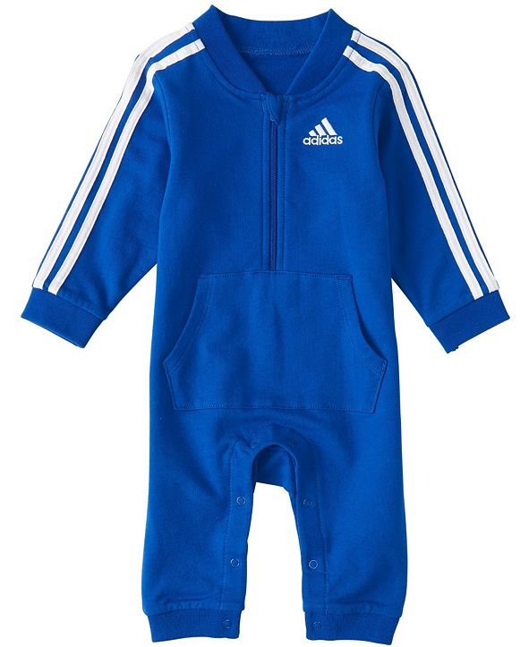adidas Baby Boys Long Sleeve Tracksuit Coverall
