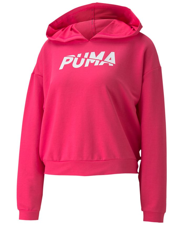 Puma - Plus Size Modern Sports Hoodie