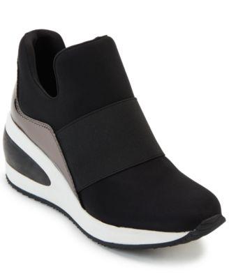 DKNY Women's Borg Wedge Sneakers