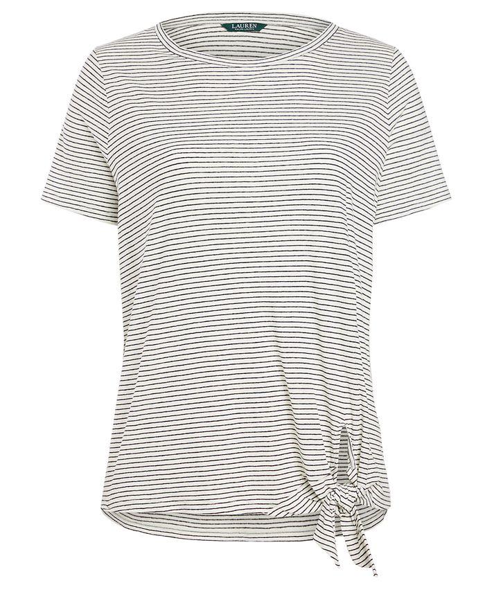 Lauren Ralph Lauren - Plus Size Striped Top