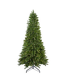 Northlight Pre-Lit Eastern Pine Slim Artificial Christmas Tree
