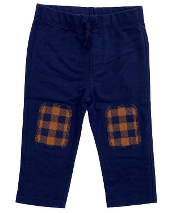 First Impressions Baby Boys Buff Check Knee Pant, Created for Macy's