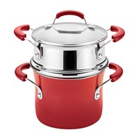 Deals on Rachael Ray Nonstick 3-Qt. Saucepot and Steamer Set