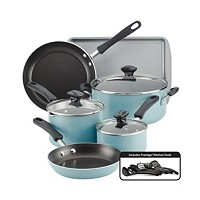 Deals on Farberware Cookstart 15-pc. DiamondMax Nonstick Cookware Set
