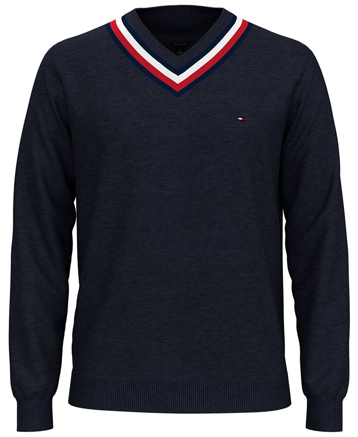 Tommy Hilfiger - Men's Murray Regular-Fit Cricket Sweater