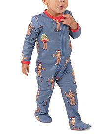 Matching Baby Star Wars Holiday Chewbacca Family Pajama One Piece