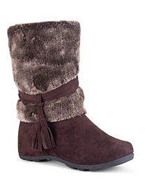 Wanted Women's Downhill Fuzzy Mid Calf Boots