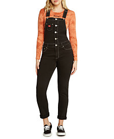 Dickies Juniors' Rolled Cuff Button Overalls