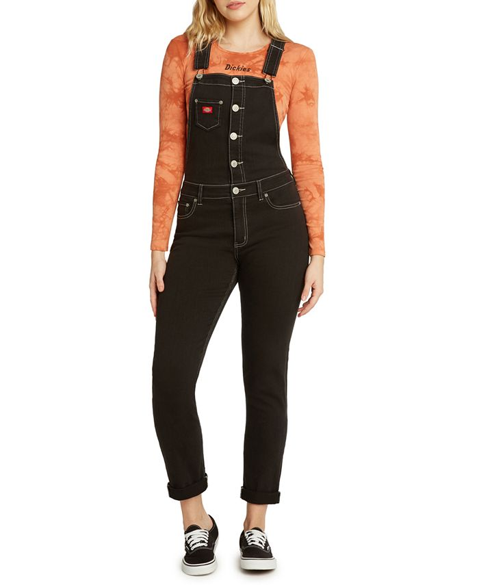 Dickies - Rolled Cuff Button Overalls