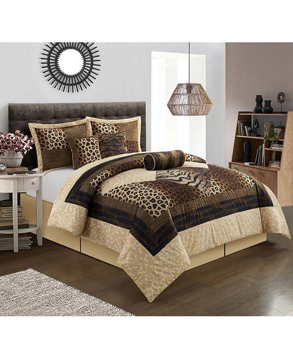 Nanshing Genoa 7-Piece King Comforter Set