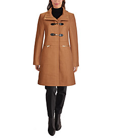 Cole Haan Stand-Collar Coat