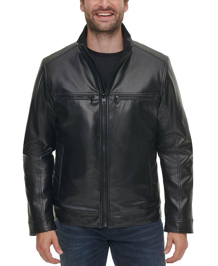 Calvin Klein - Men's Faux Leather Jacket