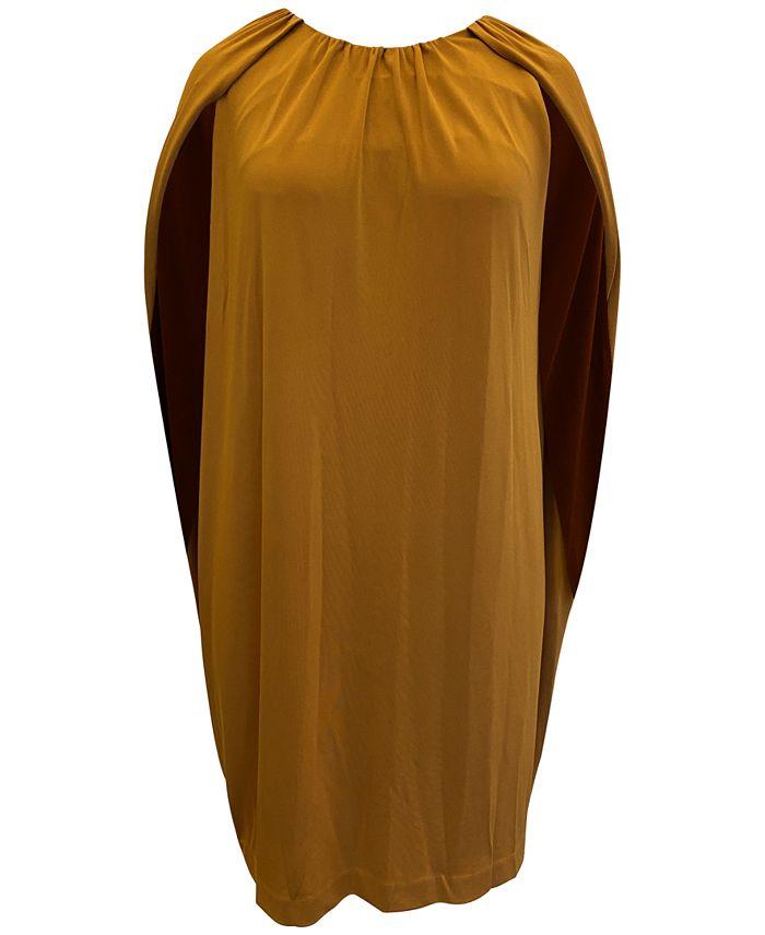 Alfani - Plus Size Cape Dress