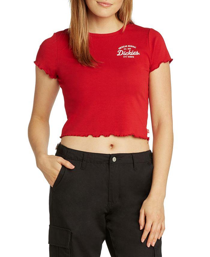 Dickies - Cropped Logo T-Shirt