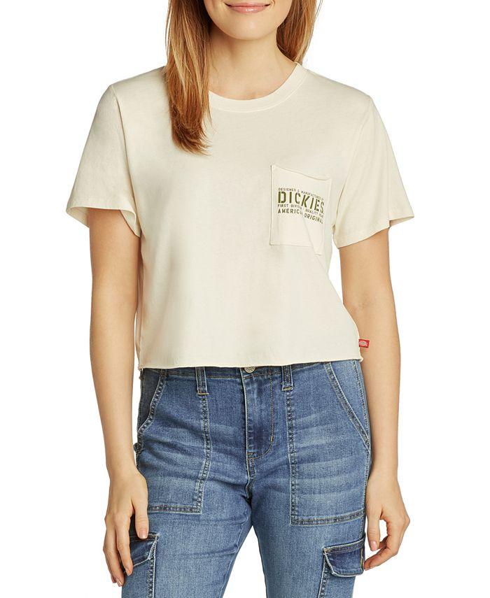 Dickies - Cropped Pocket T-Shirt