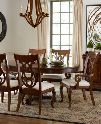 Bordeaux Round Dining Room Furniture Furniture Macys - Macys dining room sets