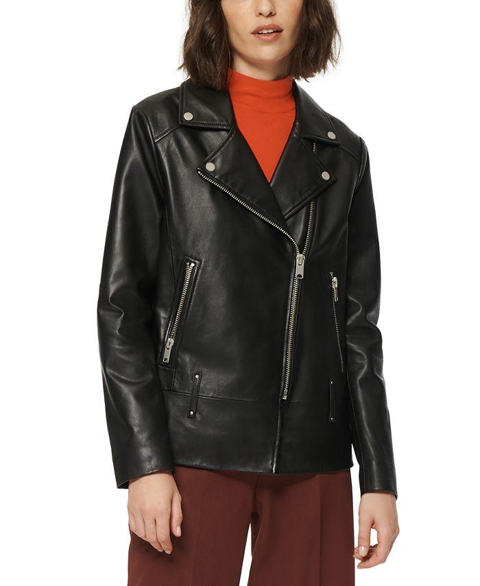 Marc New York - Solar Leather Moto Jacket