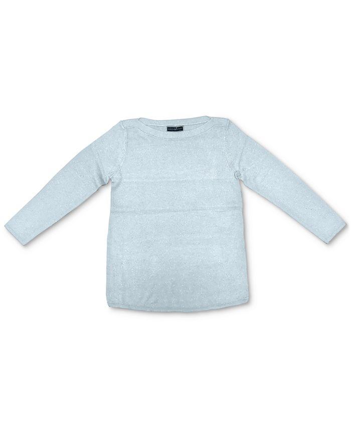 Karen Scott - Plus Size Curved-Hem Tunic Sweater