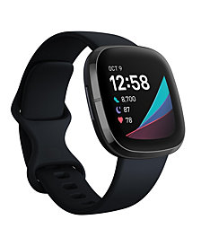 Fitbit Sense Carbon Strap Smart Watch 39mm