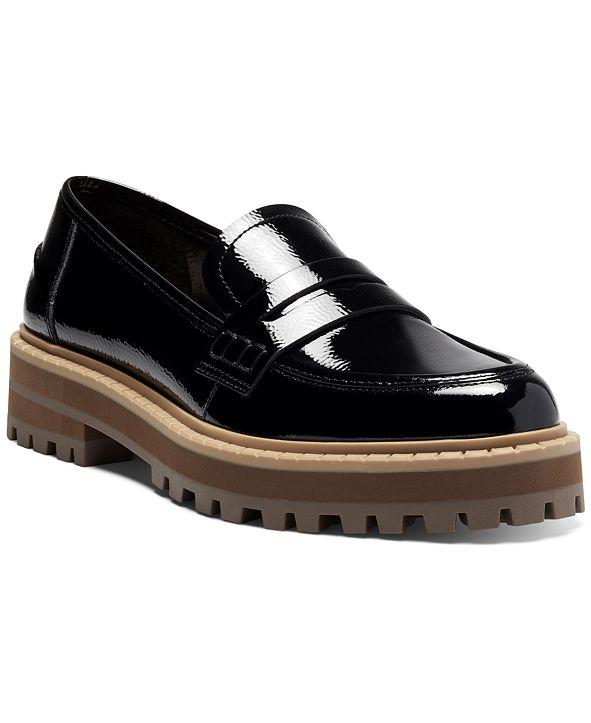 Vince Camuto Women's Mckella Lug Sole Loafers