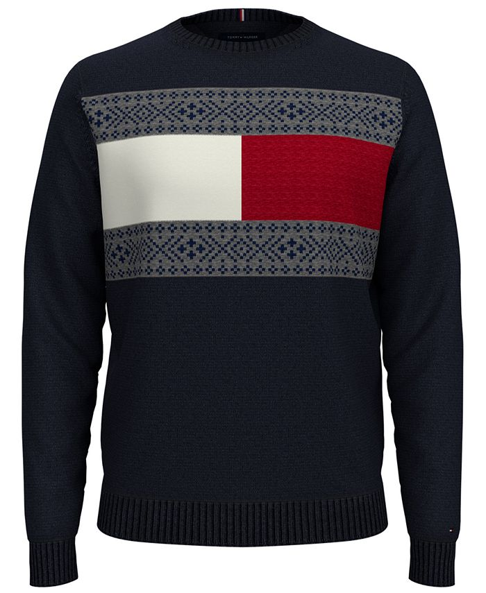 Tommy Hilfiger - Men's Regular-Fit Fair Isle Sweater