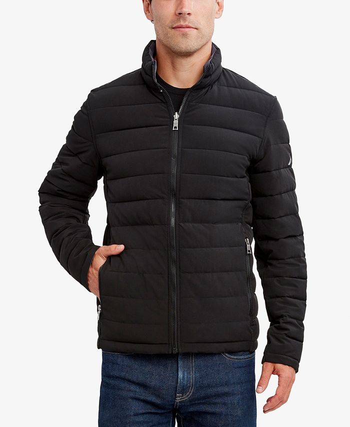 Nautica - Men's Reversible Stretch Quilted Jacket