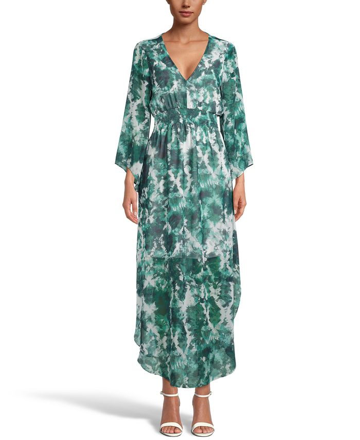 Inc International Concepts Inc Tie Dyed Maxi Dress Created For Macy S Reviews Dresses Women Macy S