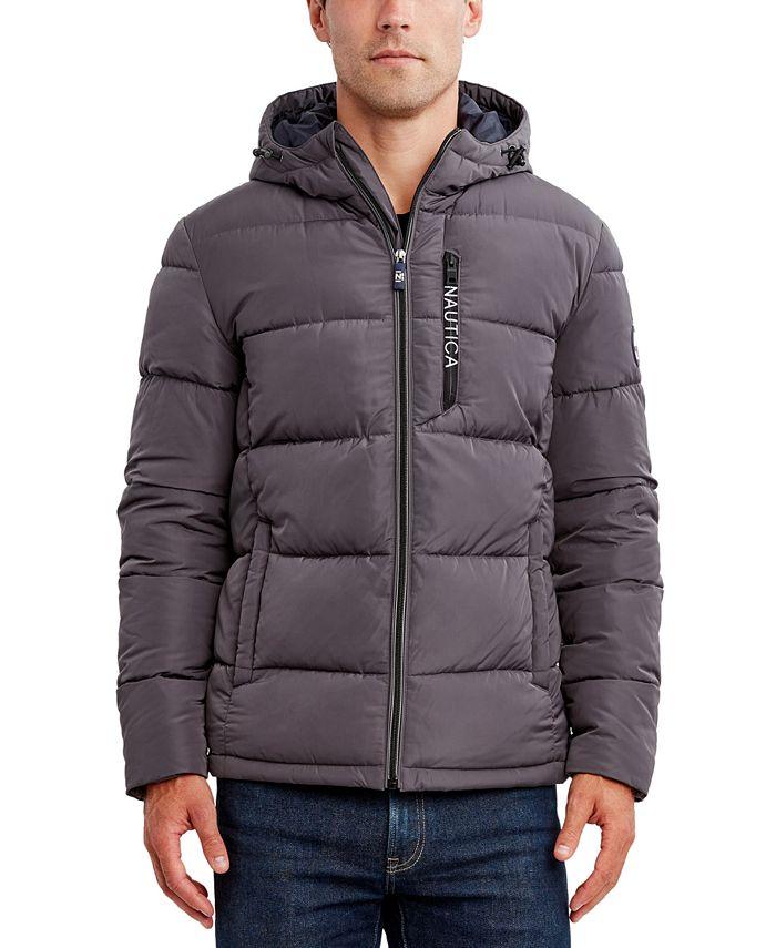 Nautica - Men's Hooded Puffer Jacket
