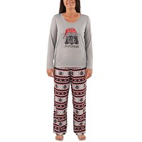 Deals on Nite Nite by Munki Munki Womens Holiday Darth Vader Pajama Set