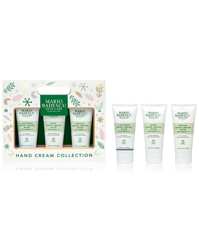 Mario Badescu - 3-Pc. Hand Cream Set
