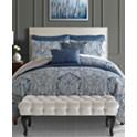 8-Pieces Sunham Willoughby Reversible Queen Comforter Set