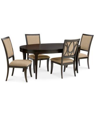 Quinton 5 Piece Dining Room Furniture Set