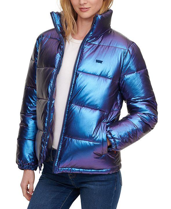 Levi's Metallic Puffer Jacket