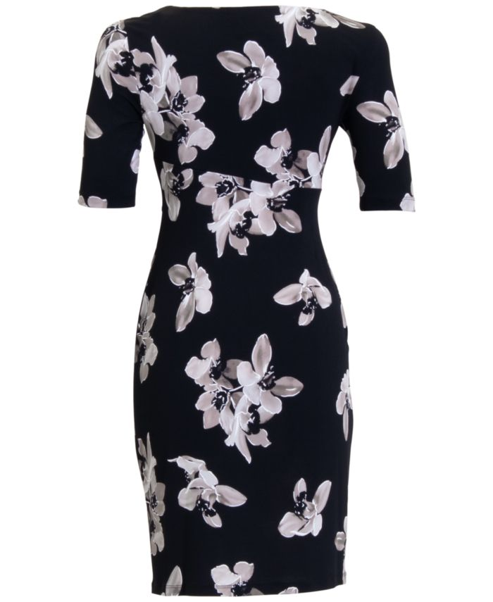 Connected Petite Floral Sheath Dress  & Reviews - Dresses - Petites - Macy's